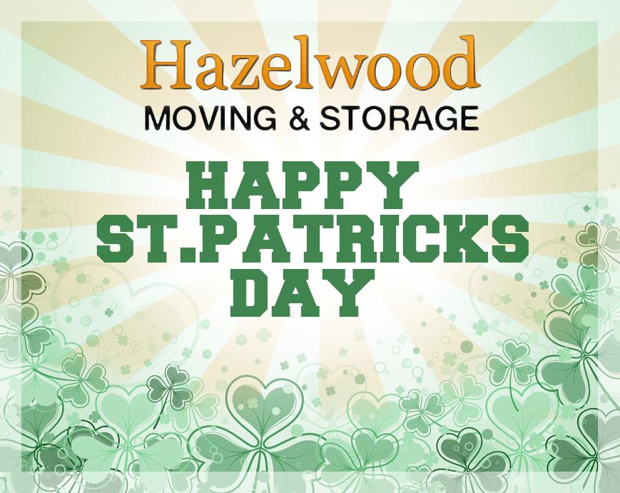 Happy St. Patrick's Day from Santa Barbara Moving Company