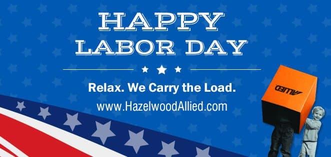 Happy Labor Day Hazelwood Allied
