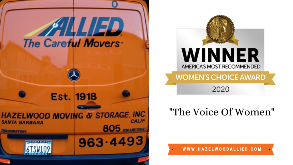 Santa Barbara Moving and Storage Company Wins Women's Choice Award