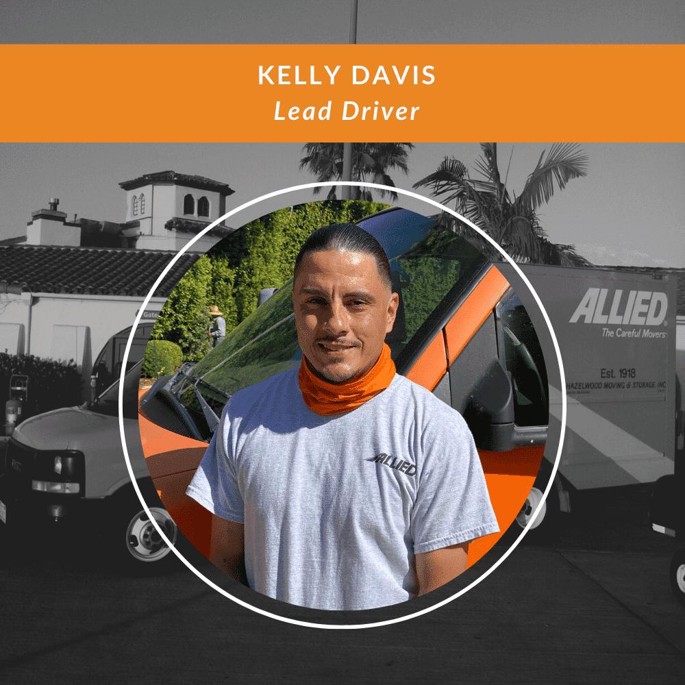 Kelly Davis - Lead Driver For Santa Barbara Moving Company